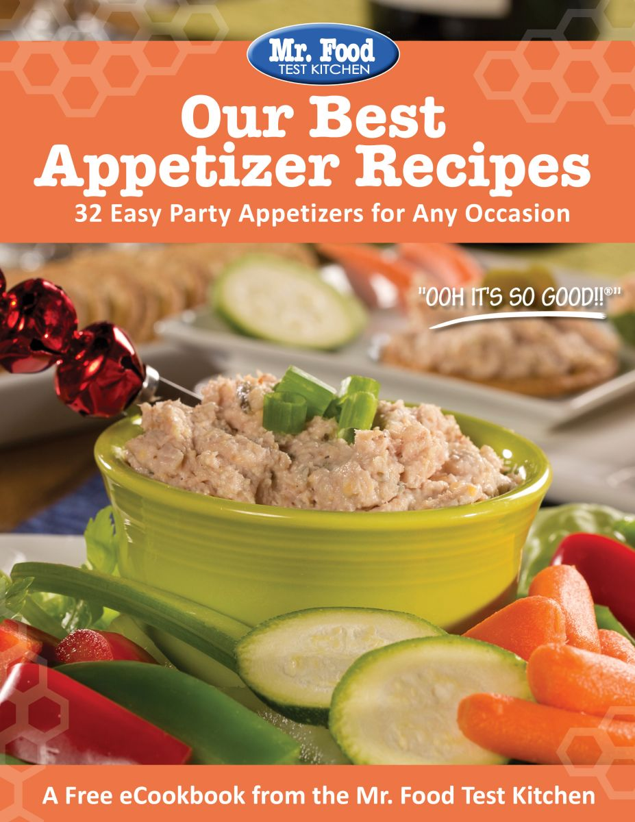 Our Best Appetizer Recipes eCookbook